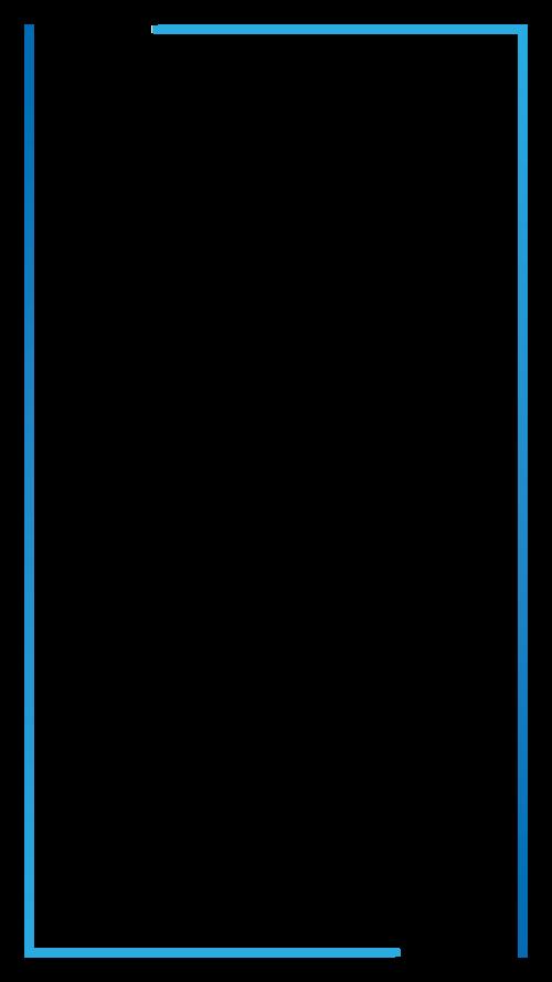 1080x1920px thin frame inside