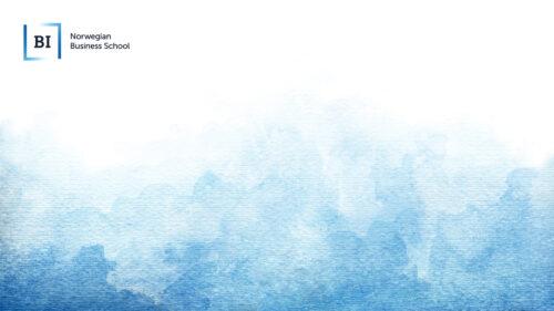 Aquarelle background with international logo
